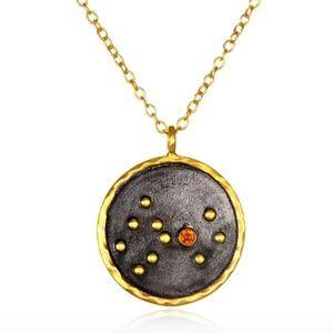 NWT Satya Jewelry 18kt gold plated Scorpio Zodiac